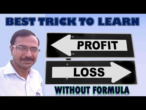Trick 42 - Shortcuts for Profit and Loss Problems