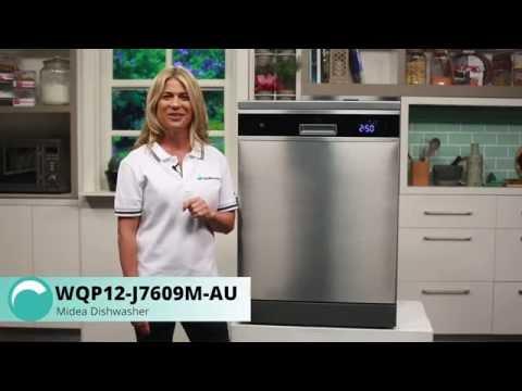 WQP12-J7609M-AU Midea Dishwasher Overview - Appliances Online