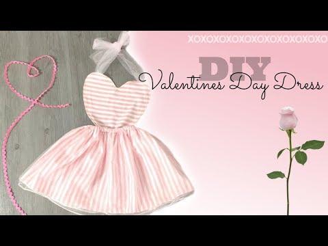 DIY Heart Shaped Dress | Valentines Day Dress