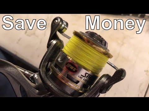 Save Money with Braid Backing on Spinning Reels!