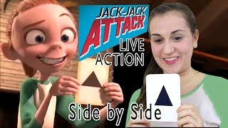 Jack Jack Attack - Side by Side - LIVE ACTION - The Incredibles