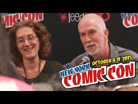 Books to Movies Wishlist panel at New York Comic Con 2015 | papercuts Special Events