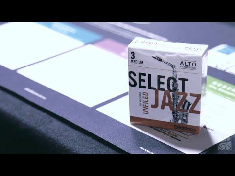 D'Addario Woodwinds Select Jazz Alto Saxophone Reeds