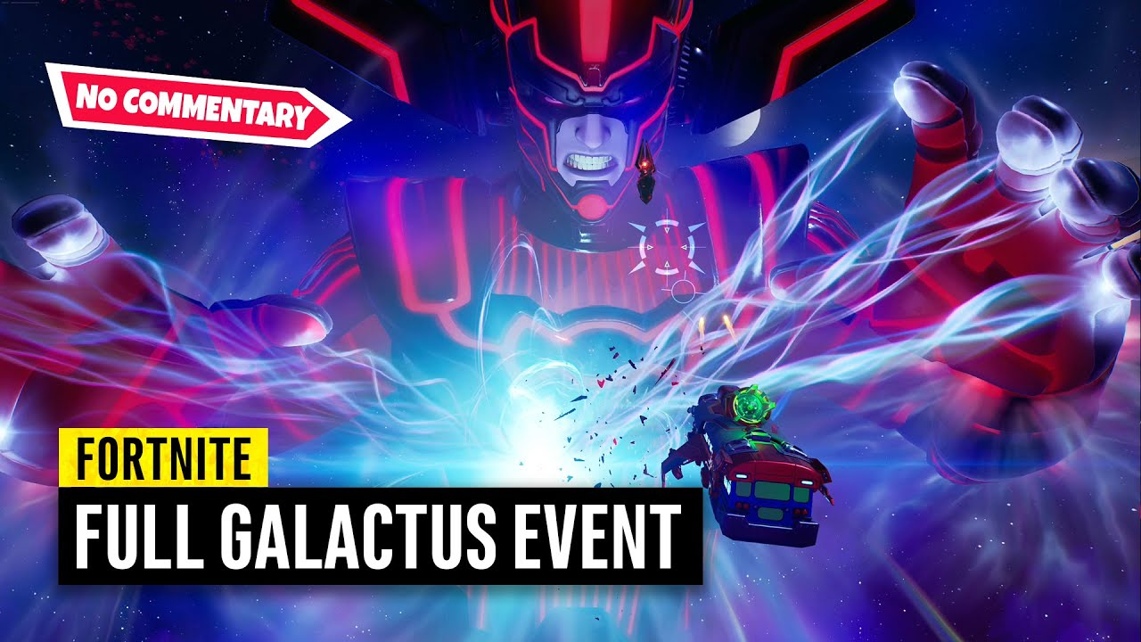 Fortnite Galactus Event on PS5   No Commentary (Chapter 2 Season 4 Live Event)