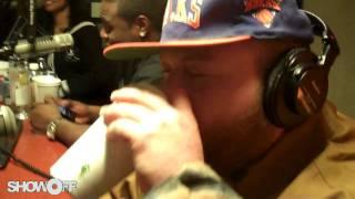 ShowOff Radio - Action Bronson Freestyle