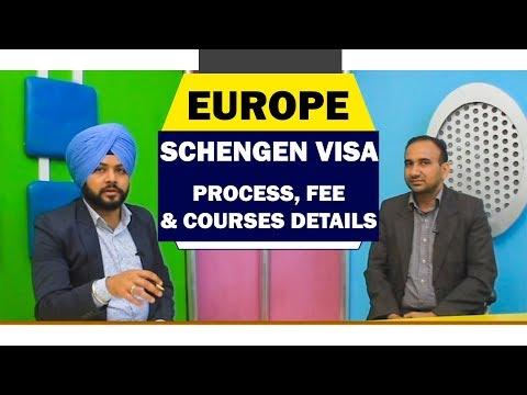 Europe Schengen Visa Process 2018 - Fee & Courses Details
