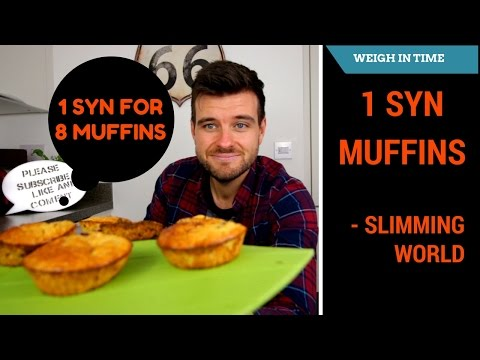 Slimming World Blueberry Muffins 1 Syn for 8 - Breakfast Ideas - Weigh In Time