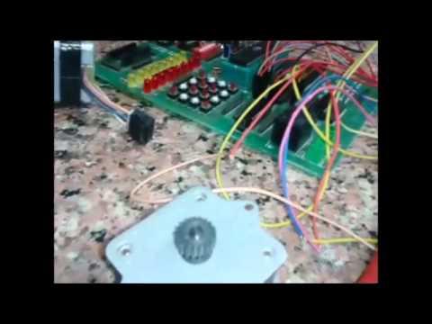 Stepper Motor Interfacing Using 8051