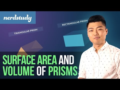 How to find the Surface Area and Volume of Prisms - Nerdstudy
