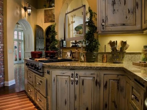 How to Make Cabinets Look Rustic