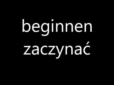 100 Najważniejsze Czasowniki w Języku Niemieckim - Czasowniki Niemieckie