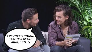 One Direction play The Serious Lyrics Game