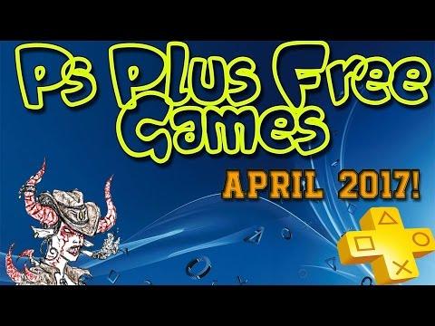 April 2017 PS Plus Free Games!