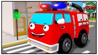Zeichentrickfilme feuerwehr Trickfilm Kinder! Feuerwehrautos Zeichentrick - Feuerwehr Zeichentrick
