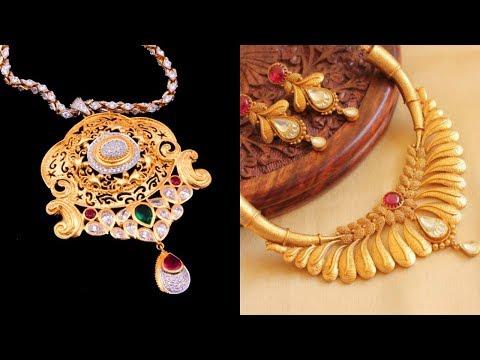 5-8 Gram Gold Necklace Designs For Women