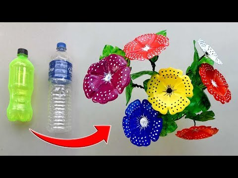 Crafts With Plastic Bottle | Amazing Way to Reuse Plastic Bottle | #DIY