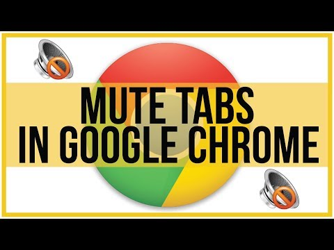 How To Mute Tabs In Google Chrome Browser