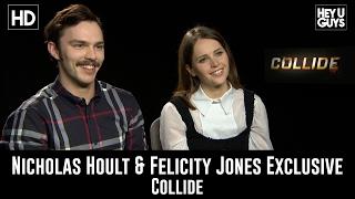 Download Nicholas Hoult & Felicity Jones talk Collide, X-Men sequel & Star Wars Rogue One Video