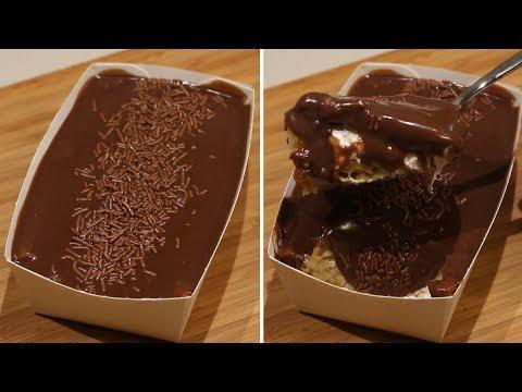 Easy Chocolate Glazed Cake Dessert