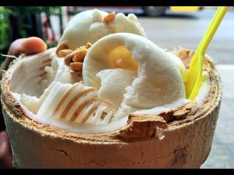 Never Seen Before | Coconut Ice Cream | FAMOUS BANGKOK STREET FOODS  | BANGKOK MIDNIGHT STREET FOODS