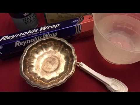 How to polish silver. Warning. No stones please.