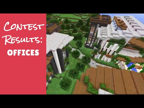 Minecraft Furniture Server - The Office Contest