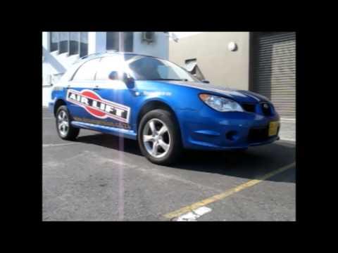 AirLift Air Suspension Kit for Subaru Impreza WRX