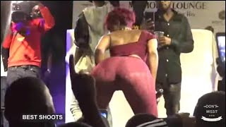 Sheebah went n@cked on stage showing everything on his Body