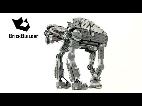 Lego Star Wars 75189 First Order Heavy Assault Walker - Lego Speed Build