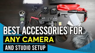 Best Accessories for Sony a6600 / a6400 / a6100 or Any Camera and Studio Setup