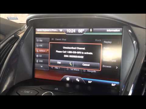 How to Set Up or Transfer Your Sirius Satellite Radio Subscription in a Ford Vehicle