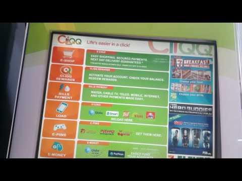 How to load cash to PayMaya via Cliqq Kiosk at 711