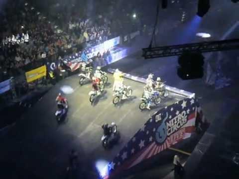 Nitro Circus Live - Praha - O2 Arena - MX train