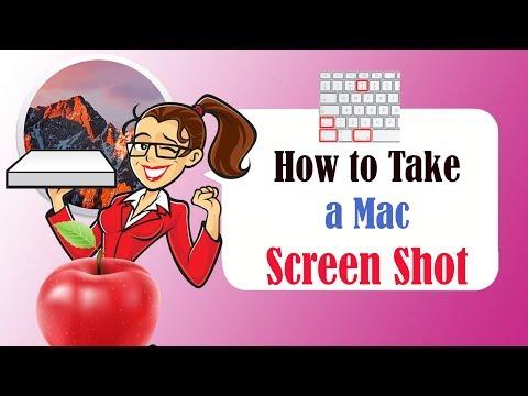 How to take a Mac Screen Shot