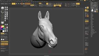 Knight Horse Sculpting In Zbrush (Live Stream)