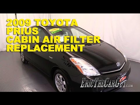 2003-2009 Toyota Prius Cabin Air Filter Replacement -EricTheCarGuy