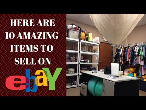 10 Best Items To Sell On Ebay - From Garage Sales!