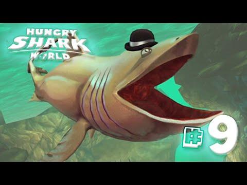 Basking Shark!! - Hungry Shark World   Ep9 HD