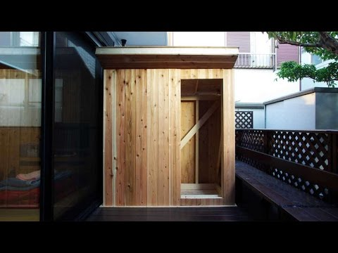 How To Build A Tiny Wooden Hut - DIY Home Tutorial - Guidecentral