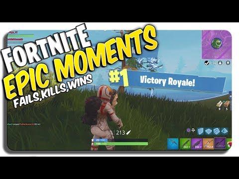 FORTNITE Epic headshots, kills, & WINS (Fortnite Battle Royale Montage) Epic Clips