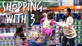 Shopping with 3 - February 28, 2017 -  ItsJudysLife Vlogs