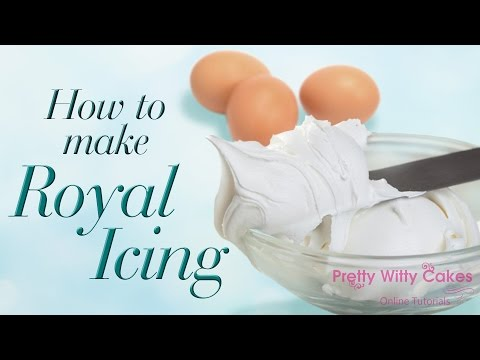 How to Make Royal Icing - Pretty Witty Cakes