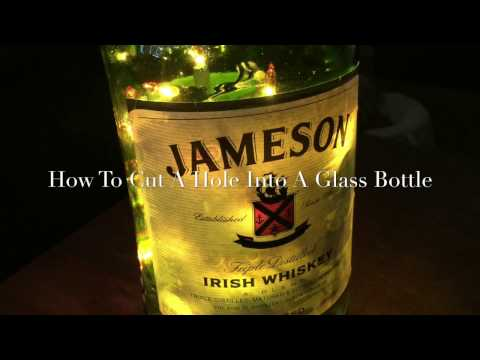 How To Cut A Hole Into Glass