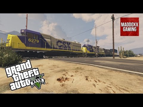 NS & Two CSX Engines in GTA 5 | Over 80 different skins | 1440p 60 Fps | MaddoxxGaming