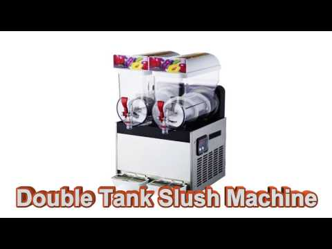 2 Tanks Slush Machine Fun Food Thailand