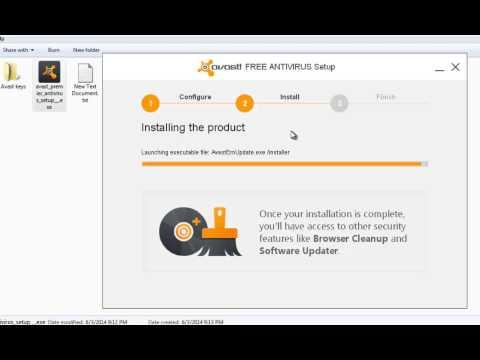 How to install avast! Premier (pro) 2014+keygen