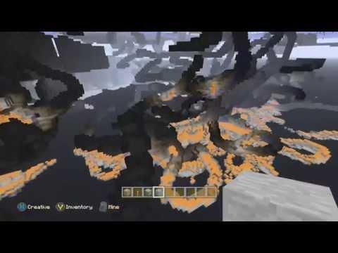 Minecraft Cave & Diamond Glitch! X-RAY Vision! [HD]