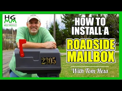 Add Curb Appeal to Your Home with a Curbside Mailbox (DIY)