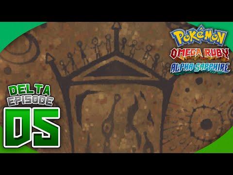 Pokémon Omega Ruby and Alpha Sapphire Walkthrough (Delta Episode) - Part 5: The Sky Pillar