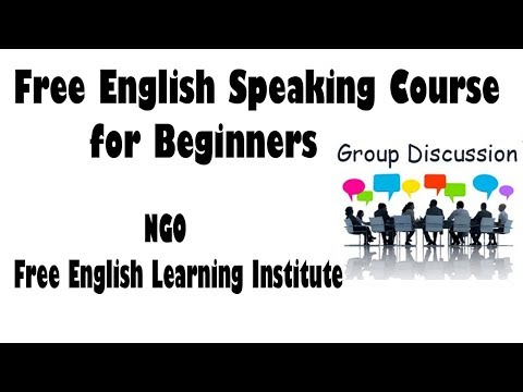 English Speaking Course for Beginners - Free English Speaking Learning Institute